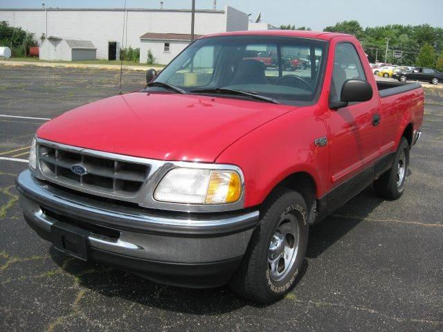1998 ford f 150 xl reg cab short bed 2wd in pekin il. Black Bedroom Furniture Sets. Home Design Ideas