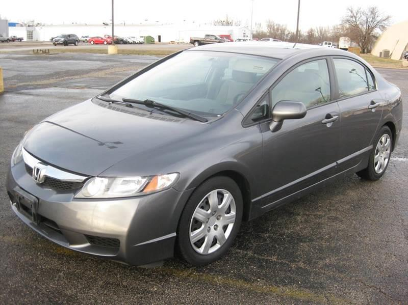 2009 honda civic lx 4dr sedan 5a in pekin il pre owned imports. Black Bedroom Furniture Sets. Home Design Ideas