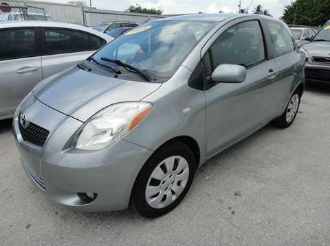 2008 toyota yaris for sale in miami fl. Black Bedroom Furniture Sets. Home Design Ideas