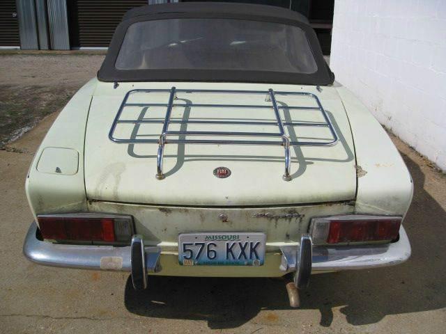 1970 FIAT 124 Spider
