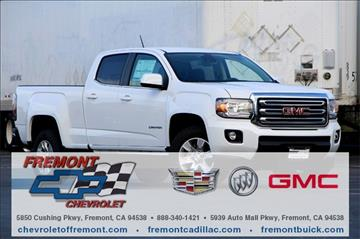2017 GMC Canyon for sale in Fremont, CA