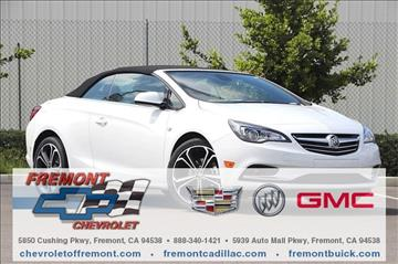 2016 Buick Cascada for sale in Fremont, CA
