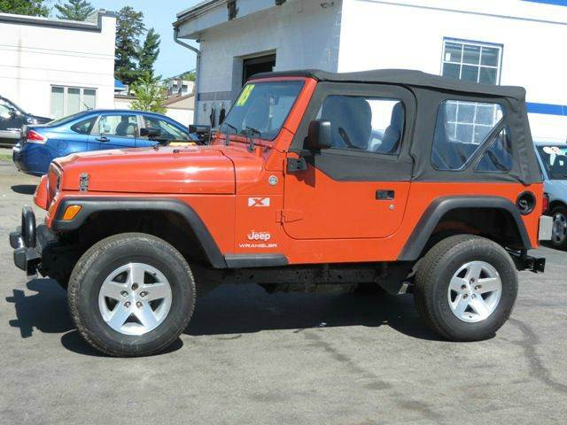 used 2005 jeep wrangler x in concord nh at price auto sales. Black Bedroom Furniture Sets. Home Design Ideas