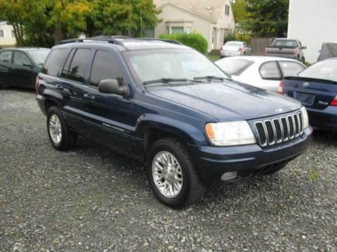 2001 Jeep Grand Cherokee for sale in Tacoma, WA