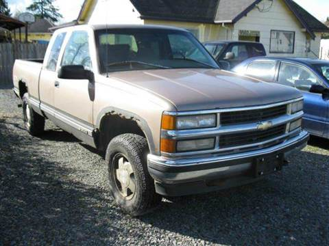Chevrolet CK 1500 Series For Sale in Washington  Carsforsalecom