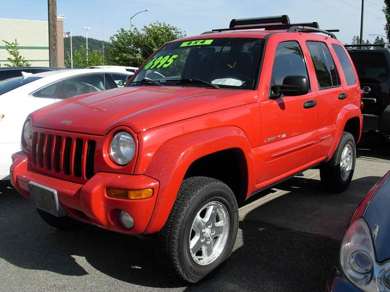 2002 jeep liberty limited 4dr 4wd suv in coeur d alene id. Black Bedroom Furniture Sets. Home Design Ideas