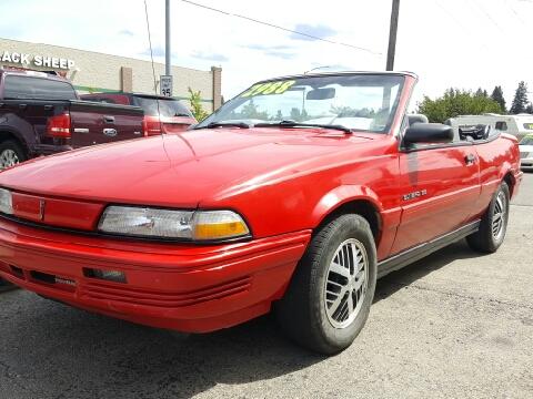 1992 Pontiac Sunbird for sale in Coeur D Alene, ID