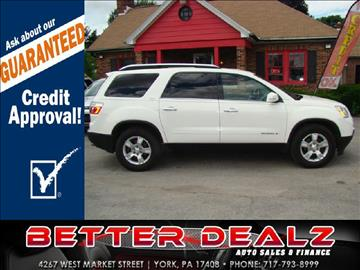 2008 GMC Acadia for sale in York, PA