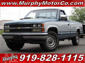 1988 Chevrolet C K 1500 Series For Sale