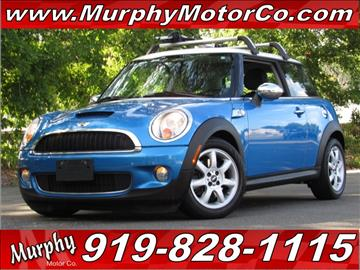 2009 MINI Cooper for sale in Raleigh, NC