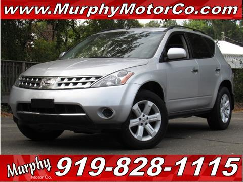 2006 Nissan Murano for sale in Raleigh, NC