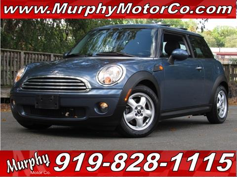 2010 MINI Cooper for sale in Raleigh, NC