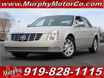 2010 Cadillac DTS for sale in Raleigh, NC
