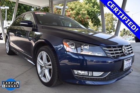 2013 Volkswagen Passat for sale in Chico, CA