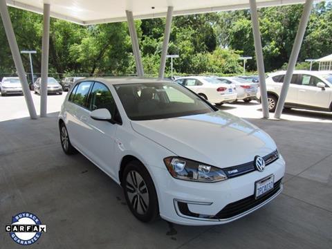 2016 Volkswagen e-Golf for sale in Chico, CA
