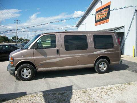2001 Chevrolet Express for sale in Morris, IL