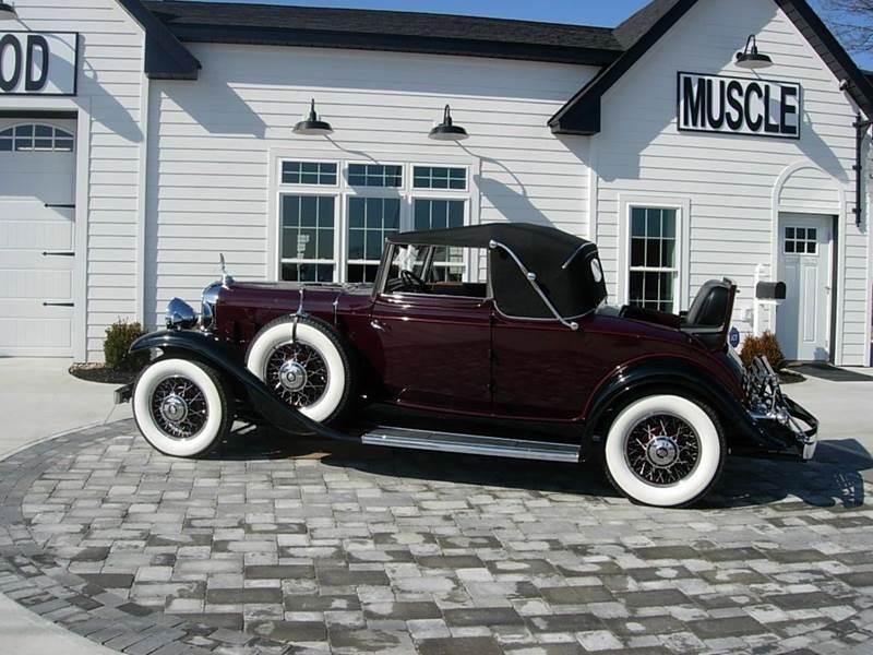 1931 Cadillac Convertible 4