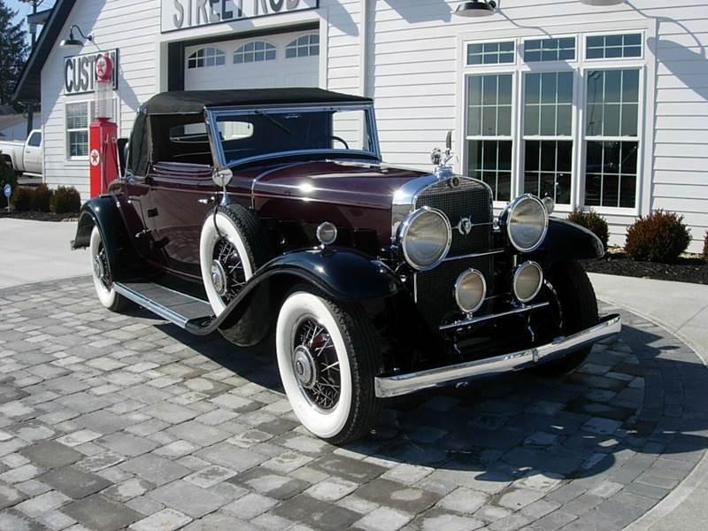 1931 Cadillac Convertible 5