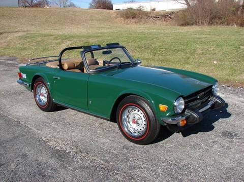 Used Triumph Tr6 For Sale In Swanton Vt Carsforsalecom