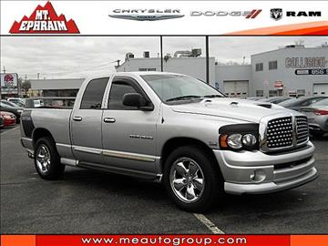 2005 Dodge Ram Pickup 1500 For Sale New Jersey