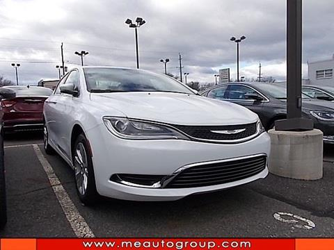 2017 Chrysler 200 For Sale In New Jersey Carsforsale Com