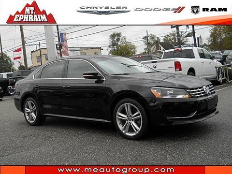 2015 Volkswagen Passat for sale in Mount Ephraim NJ