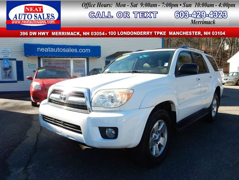 2009 toyota 4runner 4x4 sr5 4dr suv 4 0l v6 in manchester nh neat auto sales. Black Bedroom Furniture Sets. Home Design Ideas