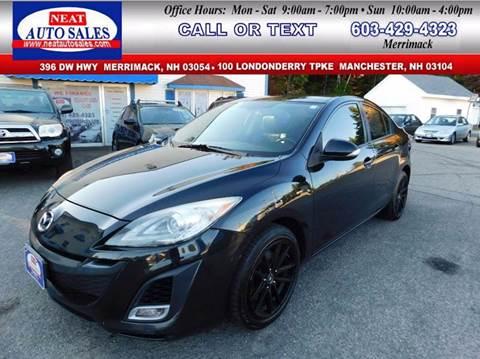 2010 Mazda MAZDA3 for sale in Manchester, NH