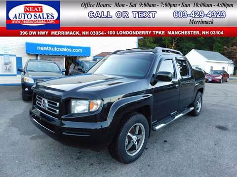 2008 Honda Ridgeline for sale in Manchester, NH