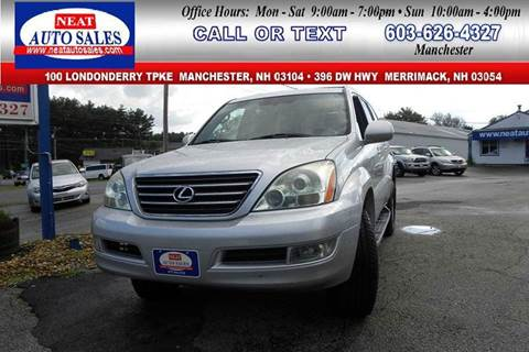 2006 Lexus GX 470 for sale in Manchester, NH