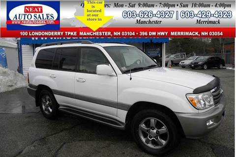 2006 Toyota Land Cruiser for sale in Manchester, NH