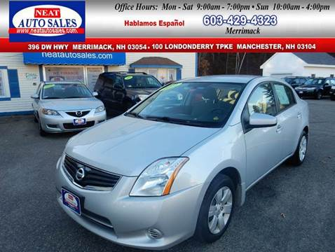 2011 Nissan Sentra for sale in Manchester, NH