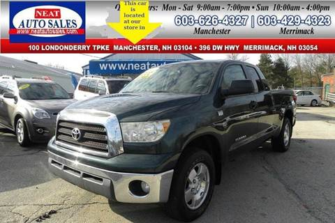 2007 Toyota Tundra for sale in Manchester, NH