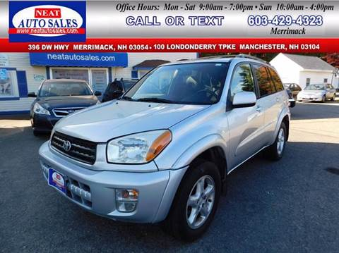 2002 Toyota RAV4 for sale in Manchester, NH