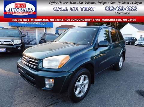 2003 Toyota RAV4 for sale in Manchester, NH