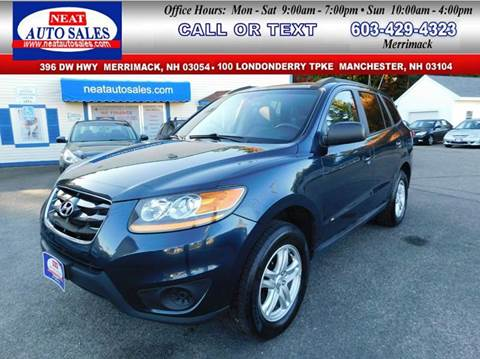 2010 Hyundai Santa Fe for sale in Manchester, NH