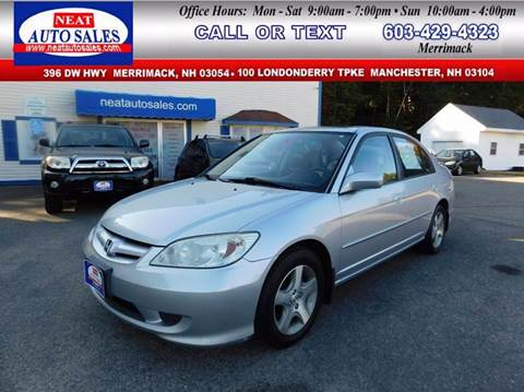 2004 Honda Civic for sale in Manchester, NH