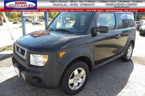 2005 Honda Element for sale in Manchester, NH