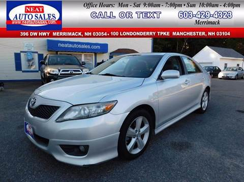 2011 Toyota Camry for sale in Manchester, NH