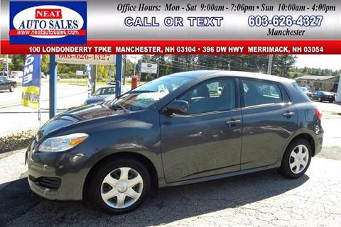2009 Toyota Matrix for sale in Manchester, NH