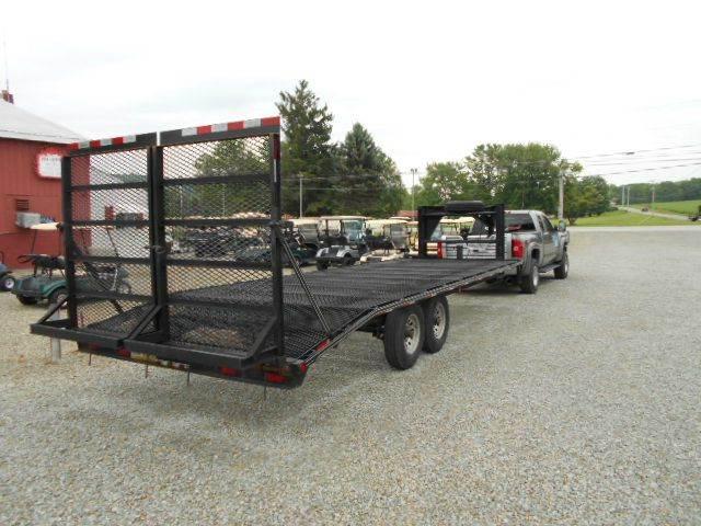 2013 Quality Gooseneck Trailer 24 Foot Flat Bed Cargo Trailer