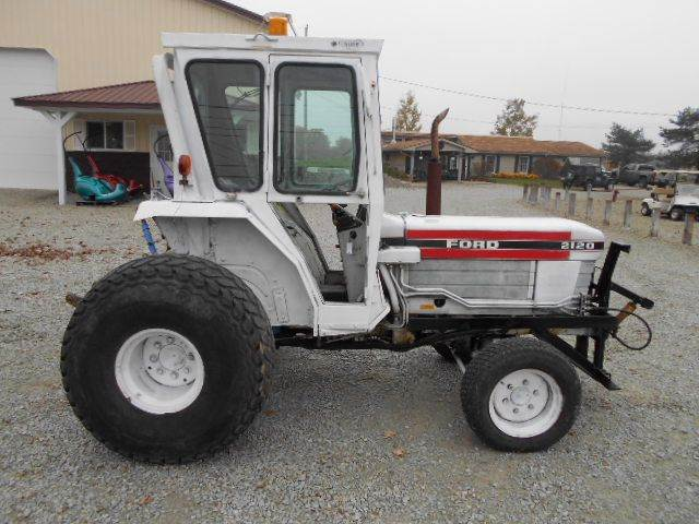 1990 Ford 2120 Tractor 40HP  +  4X4
