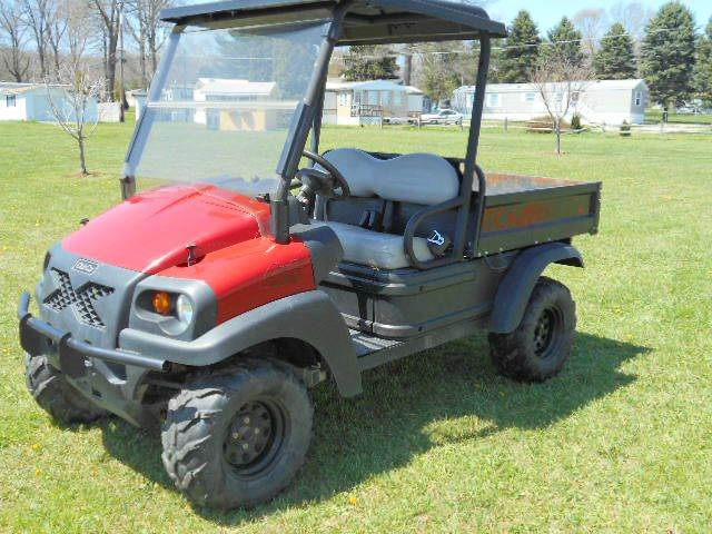 2011 Club Car 4X4 UTV Diesel 1550 Side By Side