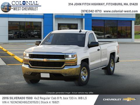 2016 Chevrolet Silverado 1500 for sale in Fitchburg, MA