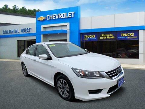 2013 Honda Accord for sale in Fitchburg, MA