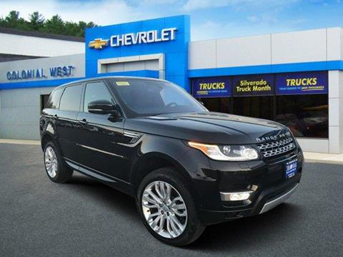 2016 Land Rover Range Rover Sport for sale in Fitchburg, MA