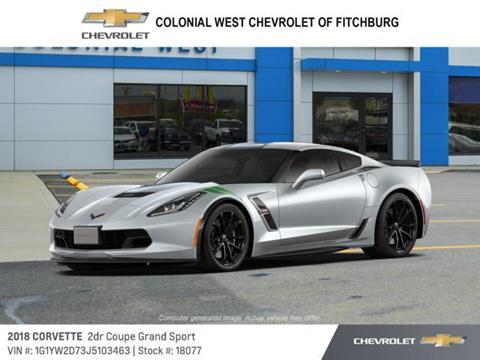2018 Chevrolet Corvette for sale in Fitchburg, MA