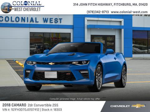 2018 Chevrolet Camaro for sale in Fitchburg, MA