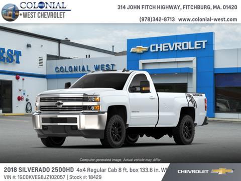 2018 Chevrolet Silverado 2500HD for sale in Fitchburg, MA
