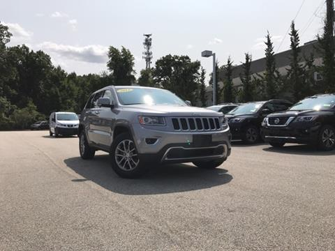 2014 Jeep Grand Cherokee for sale in Auburn, MA